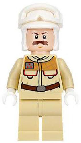 NEW LEGO REBEL OFFICER FROM SET 75098 STAR WARS EPISODE 4//5//6 SW0728