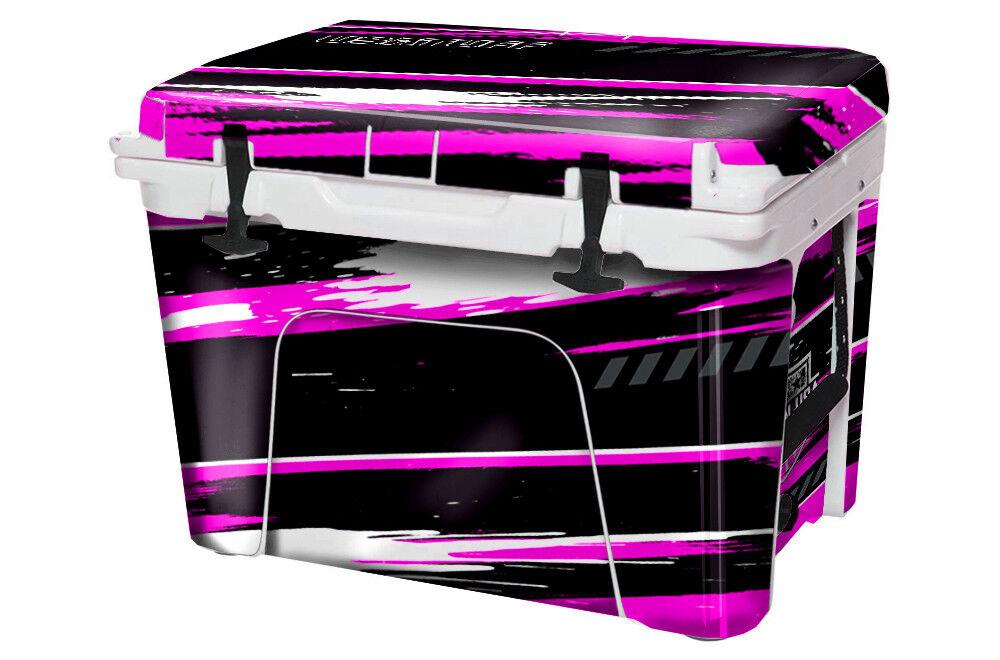USATuff Custom Cooler Decal Wrap fits YETI Tundra 45qt FULL USA RZR SxS Rosa