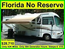 NO RESERVE 2004 FOREST RIVER GEORGETOWN SE 31FT CLASS A RV MOTORHOME CAMPER
