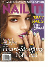 NAIL IT,  JANUARY / FEBRUARY, 2014 ( 35 NAIL COLORS YOU NEED FOR WINTER )