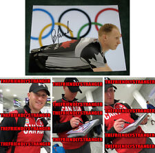 "BRAD JACOBS signed ""2014 SOCHI OLYMPICS"" 8X10 Photo PROOF (A) Gold Medal Curling"