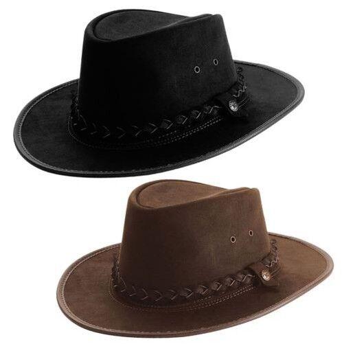B. C.H 'Bac Pac' Waterproof Western Hat Brown