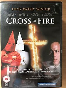 John-Heard-Cross-Of-Fire-1989-True-Life-Ku-Klux-Klan-Civil-Derechos-Drama-Gb
