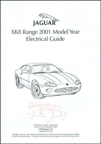 Jaguar Xk8 2001 Manual Electrical Guide Shop Service