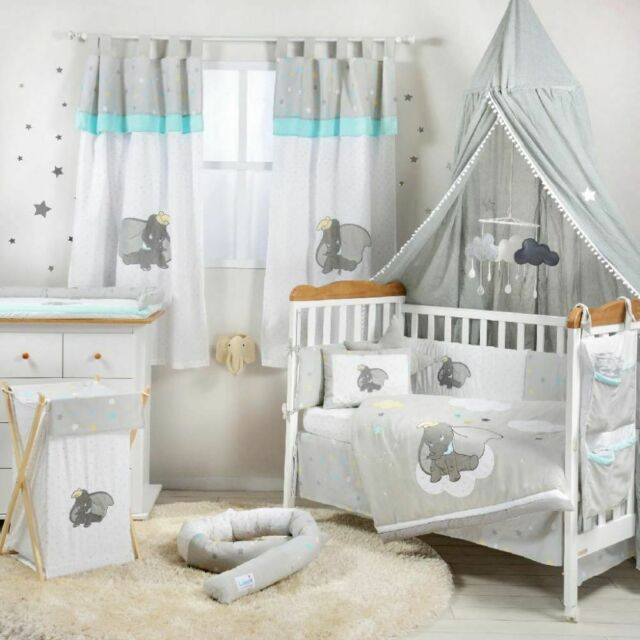Baby Bedding Dumbo Secure Me Crib Liner
