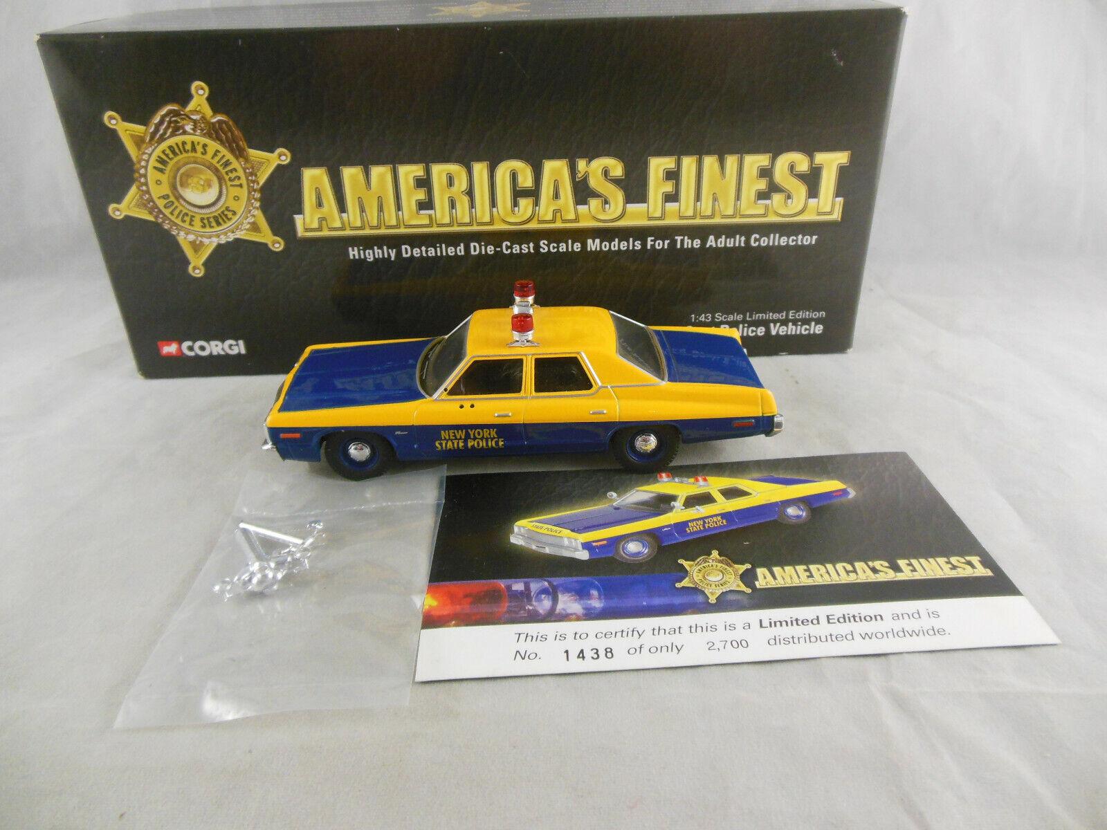Corgi US06006 Dodge Monaco New York State Police 1 43 Scale