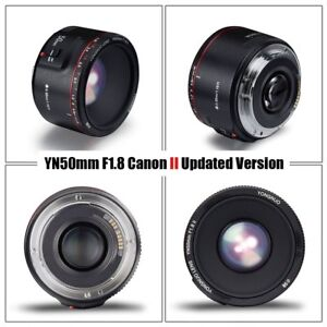 3280e5f917 2018 New Version Yongnuo YN 50mm F 1.8 II AF MF Prime Fixed Lens for ...