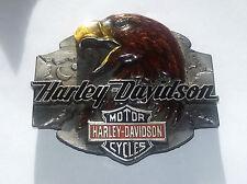 Boucle De Ceinture Harley-Davidson 1992 Emaillée