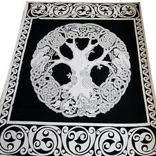 Copriletto Dekotuch Celtic Tree Cotone Attaccatura di Parete Panno 140x210