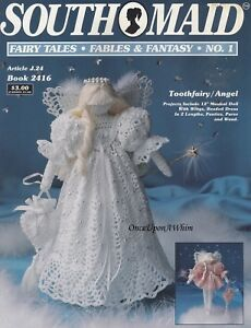 Toothfairy-Angel-Fairytales-Fables-amp-Fantasy-J-P-Coats-Crochet-Pattern-Book-2416