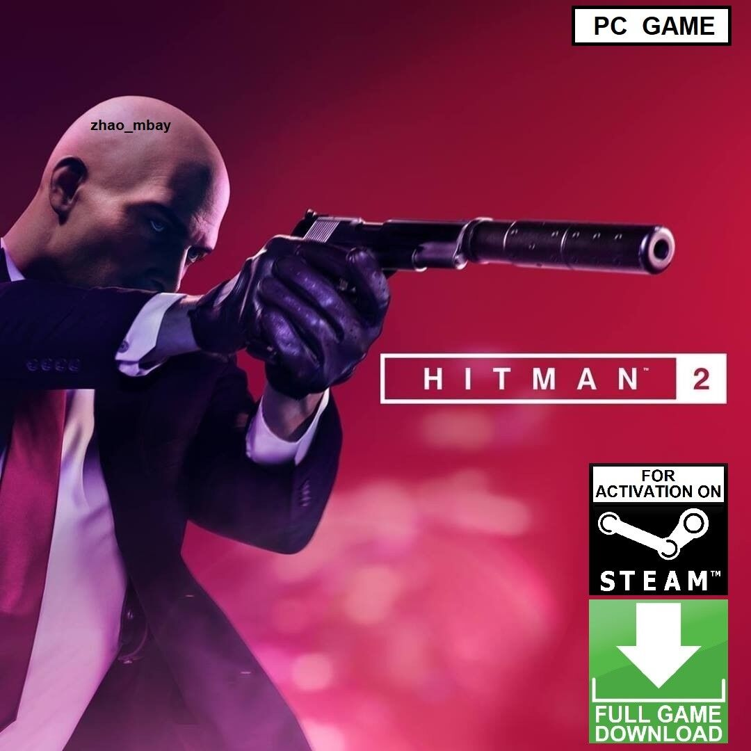 Hitman 2 PC Game Steam Key 2018 Assassin Action Stealth [NO CD/DVD] FAST SENT! 1