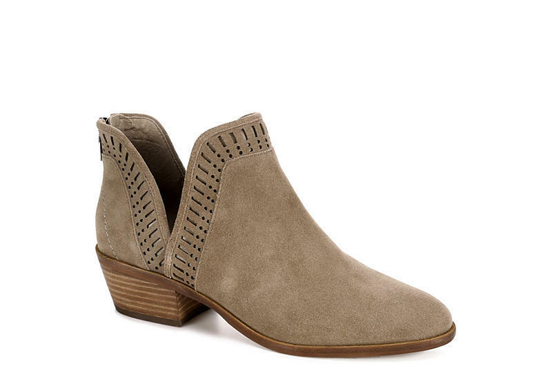✔️✔️Vince Camuto Taupe Braun Philena Laser Cut out Stiefel Ankle Stiefel out Booties 9M M3020 a7495c