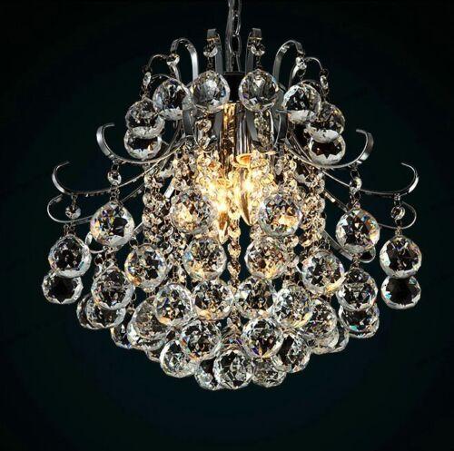 Modern ORIGINALE K9 crystal Chandelier Plafoniera Lampada a sospensione 3/4/6 Luci