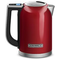 Genuine Kitchenaid 1.7-liter Electric Kettle Led Displaykek1722er Red 57oz