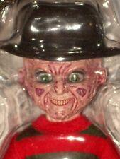 "Mezco Nightmare on Elm Street Talking Freddy Krueger 10/"" Living Dead Doll"