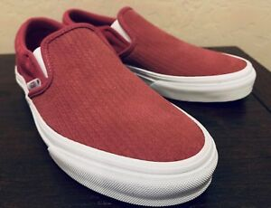 Vans Classic Slip-On Embossed Suede Skate Shoes Women s Size 7 Dry ... 90aaf18a2