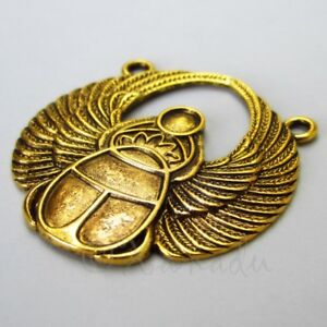 37559 Antiqued Silver Vintage Alloy Wing Eagle Fly Connector Pendant Charm 20pcs