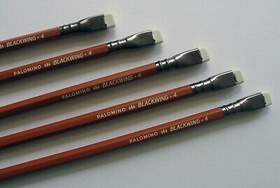 Rust-colored Soft Graphite Pencils 3 x Blackwing Volumes 4 Mars Palomino Drawing Writing Pencil Stationary Gift
