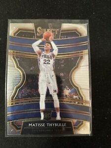 2019-20-Panini-Select-Concourse-Base-97-Rookie-Matisse-Thybulle-Sixers