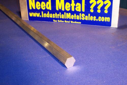 """3//4/"""" x 36/""""-Long 6061 T6 Aluminum Hexagon Bar--/>.750/"""" 6061 Aluminum Hex"""