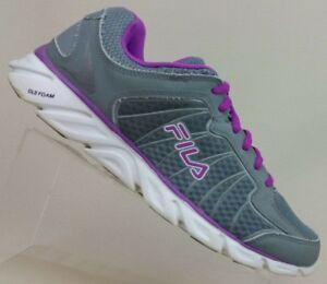 Fila DLS Foam Mesh Gray/Purple Athletic