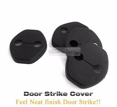 New Door Striker Cover Hook Garnish Black Molding for HYUNDAI 2016-2017 Tucson