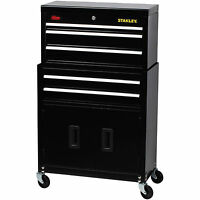 Stanley Rolling Tool Chest Box Cabinet Storage Drawer Toolbox Garage Mechanic
