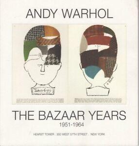 andy warhol the bazaar years 1951 1964