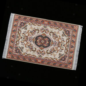 MagiDeal-1-12-Dollhouse-Carpets-Woven-Miniature-Rugs-Mat-Accessory-Brown