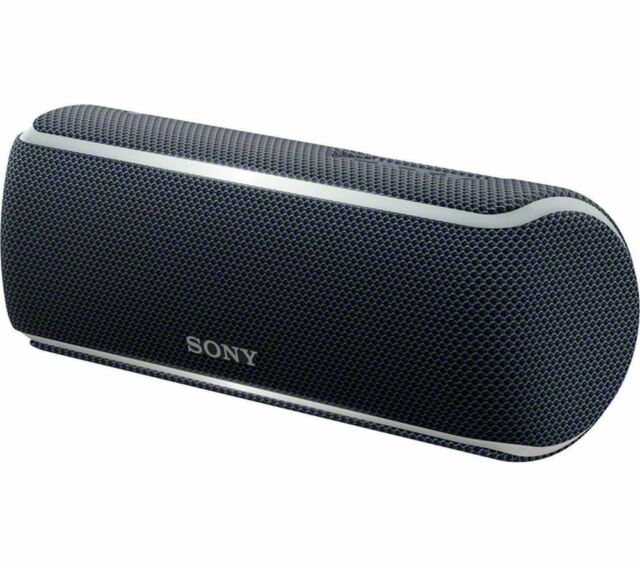 Sony Portable Wireless Speaker BLACK SRS-XB21 with Extra Bass and Lighting XB21