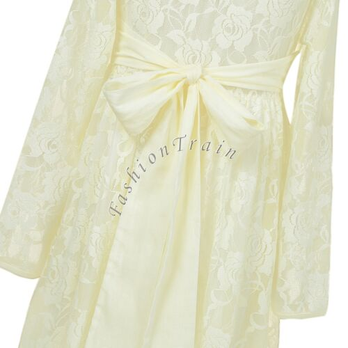 Flower Kids Baby Girl Princess Bridesmaid Petal Tulle Party Formal Dress Dresses