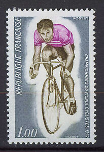 FRANCIA-FRANCE-1972-MNH-SC-1350-World-Bicycling-Champ-Marseille