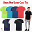 Uneek-Mens-Breathable-T-Shirt-Wicking-Cool-Running-Gym-Top-Sports-Performance-T thumbnail 1