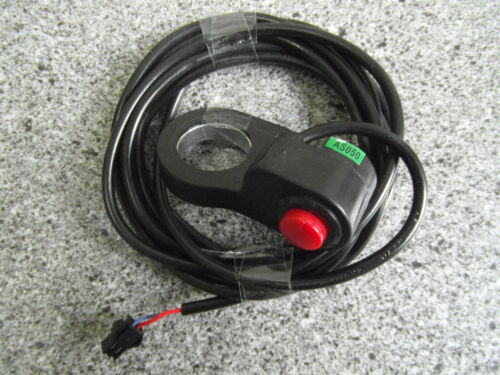Elektrofahrrad 22mm für Pedelec E-Bike Lenkerschalter Ein/Aus