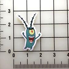 "Spongebob Squarepants Plankton 3"" Tall Vinyl Decal Sticker BOGO"