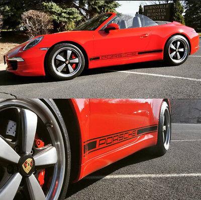 PORSCHE 911 GT3 Panamera 4 GTS Turbo 718 Cayman 4S Boxster Decal Vinyl  Stripes | eBay