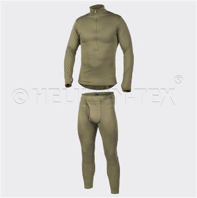 Helikon Tex Cold Weather Army Grid Underwear Underwear Underwear Hose Hemd US Level 2 Oliv S Small 35ec53
