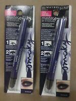 Maybelline Master Smoky Mechanical Pencil Blue Blaze 0.018 Oz Each Lot Of 2