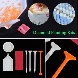 Bandeja-de-plastico-Pluma-de-Taladro-de-punto-de-punto-de-cruz-5D-Diamante-kits-de-pintura-Bordado