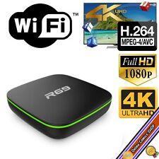 TV Box - 4K x 2K - H.265 Android Quad-CORE - WiFi 8GB Available XBMC/Kodi - ITA