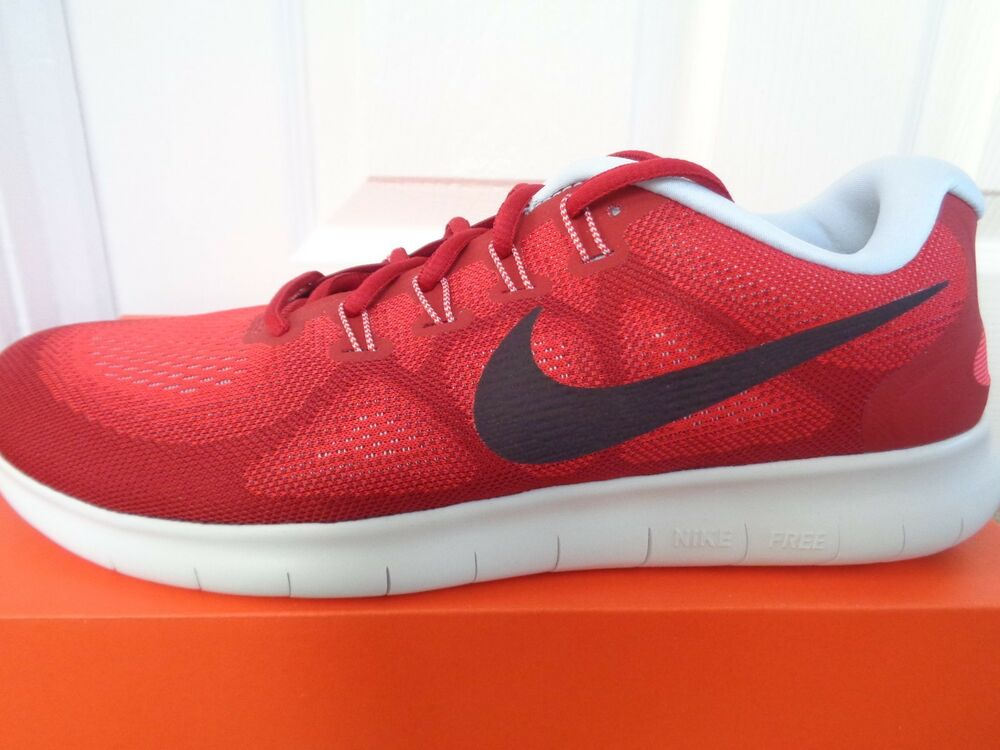 Nike Free RN 2017 Entrainement Baskets Chaussures 880839 602 UK 10 EU 45 US 11 Neuf + Boîte-