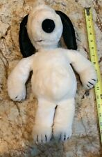 Snoopy Peanuts  Stuffed Toy FUWAKUTA Soft Exhausted Pattern Purple Plush Doll