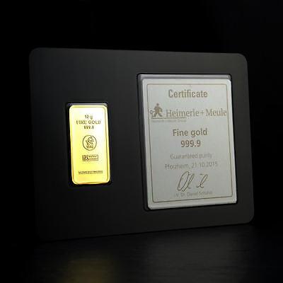Goldbarren collection on eBay!