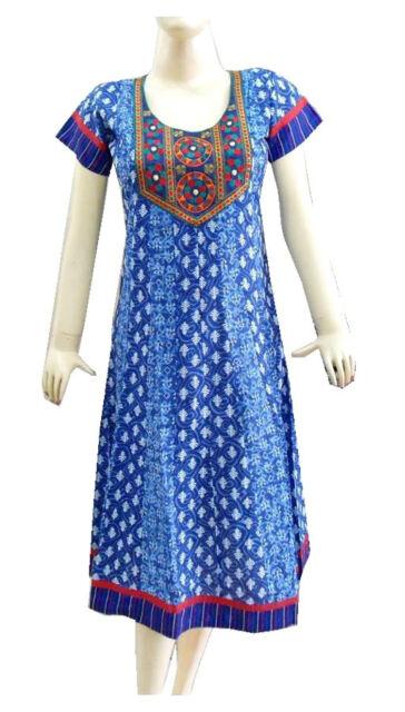 Indian Bollywood Designer Pakistani Embroidery Kurti Women Suit Anarkali Tunic