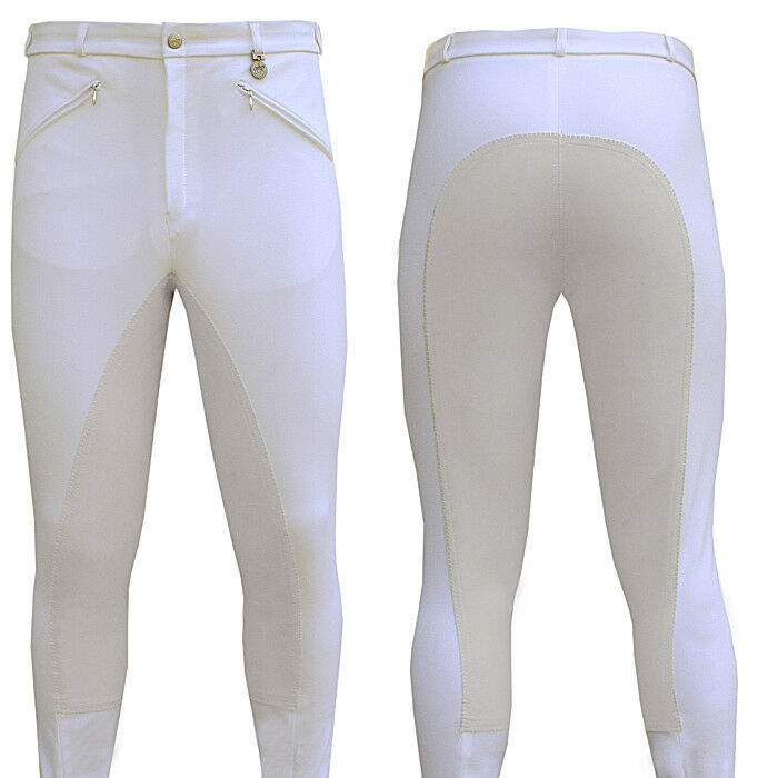 Pikeur Liostro Mens Breeches - Long In  white Size GB32L F42L I48L  fashion mall