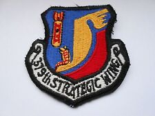 usaf  America air force squadron cloth patch  379th strategic wing