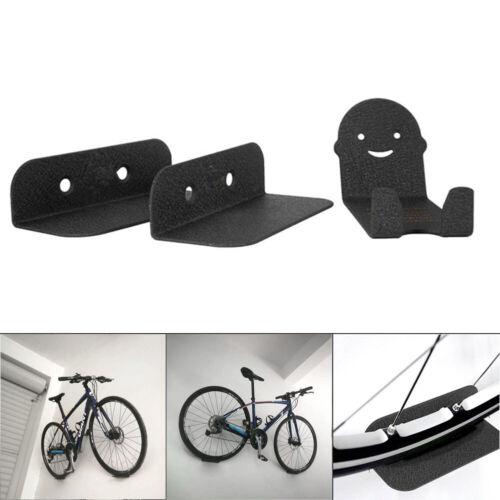 MaxFind Bicycle Wall Mount Bike Hanger Garage Rack Storage Holder Carbon Steel