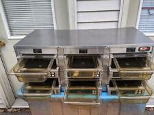 Carter Hoffmann Mc3w2sn01 Countertop Hot Holding Cabinet Commercial Food Warmer