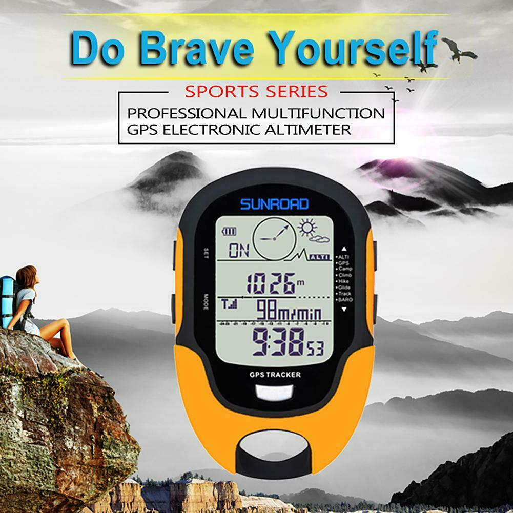 SUNROAD Waterproof FR510 Barometer Compass Outdoor Hiking Climbing Altimeter Kit