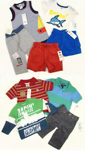 11-pc-Mixed-Boys-Clothes-lot-Gymboree-Osh-Kosh-Outfits-2pairs-Shoes-0-18-months